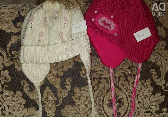 Cap for girls p 2-4 g