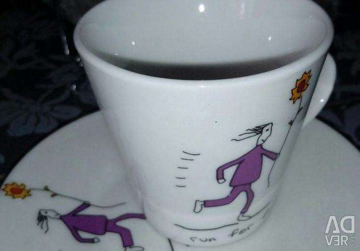 Kahve standında ayarla