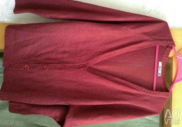 Κάρδαμο νέο 52-54 / XXL παλτό, νέα μπλούζα