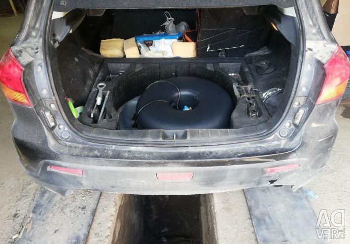 Mitsubishi ASX propane installation of HBO 4th generation