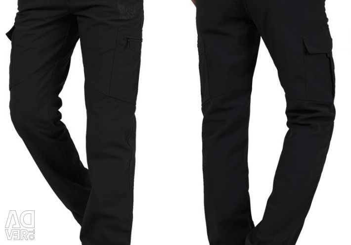 Warm men's pants