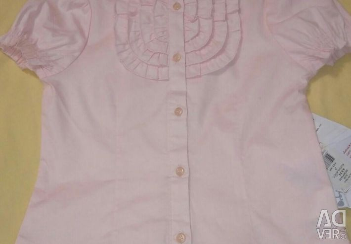 Blouse for girls on height 122