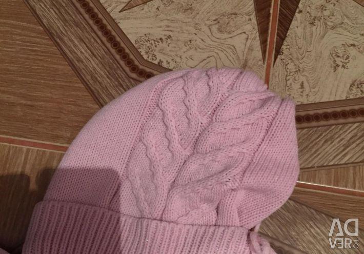 Pink Spring Cap