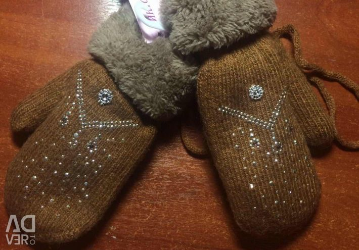 New children's mittens