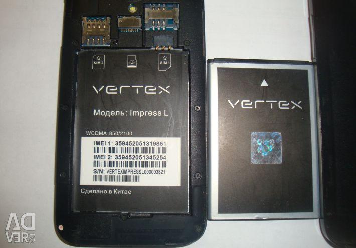 Vertex impress l - repair