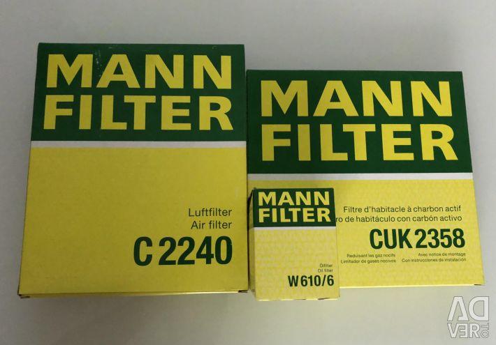 Filter Set for Honda Civic 2006-2011 1.8L