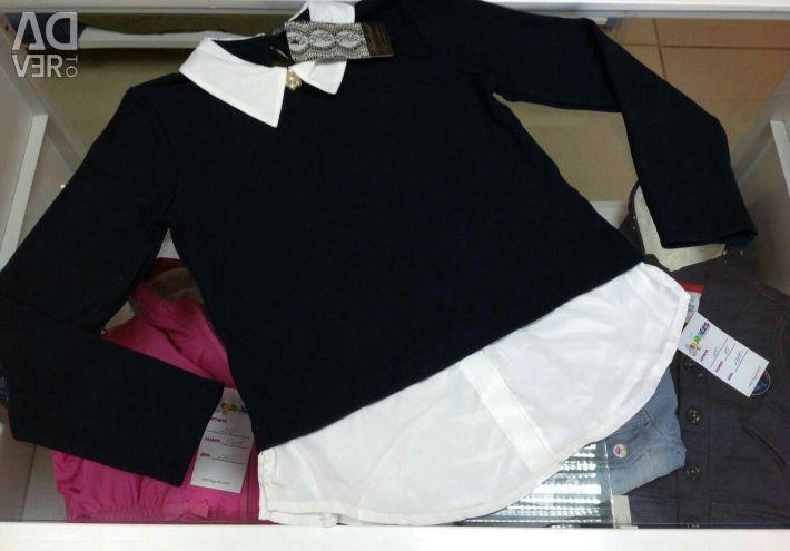 Schoolgirls and blouses