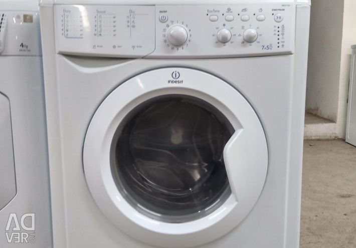 Indesit with dryer. state 5+