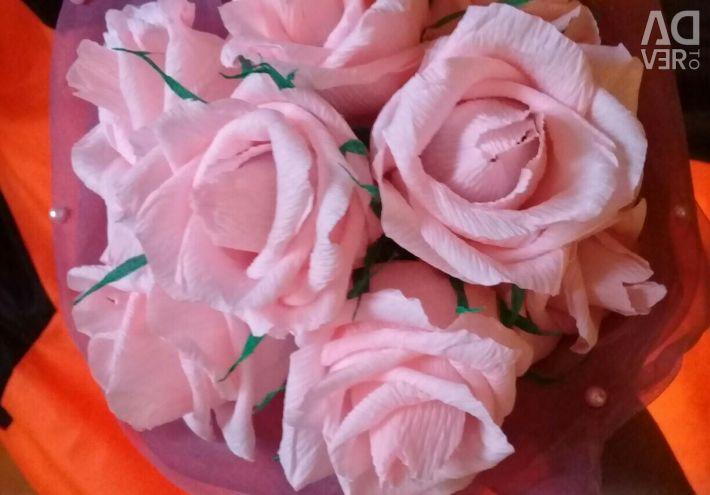 Trandafiri (în interiorul bomboanei)