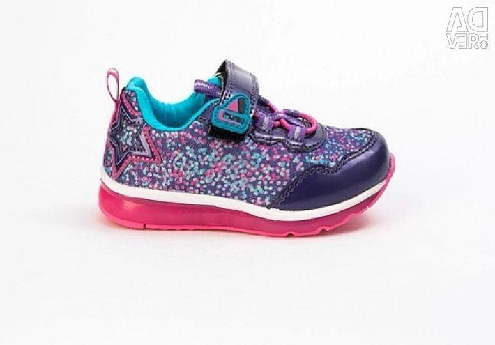 Marsu backlit sneakers. New pp 22-27