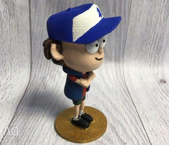 Figures Gravity Falls Hut of Miracles and Dipper (set)