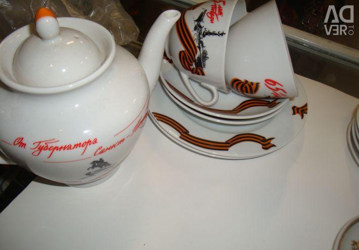 Tea set new / set not set-riga