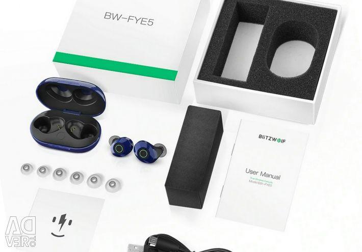 🔥 Căști TWS BlitzWolf BW-FYE5 BT 5.0 Nou