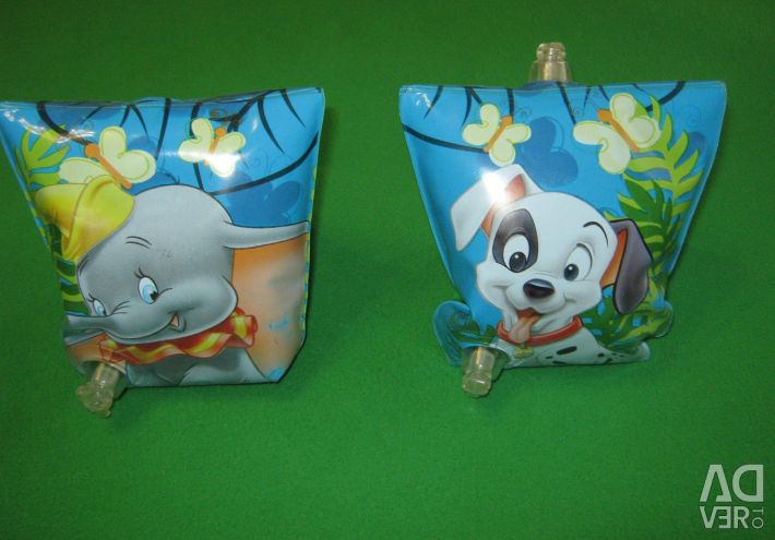 Children's armlets for swimming Disney 3-6 years