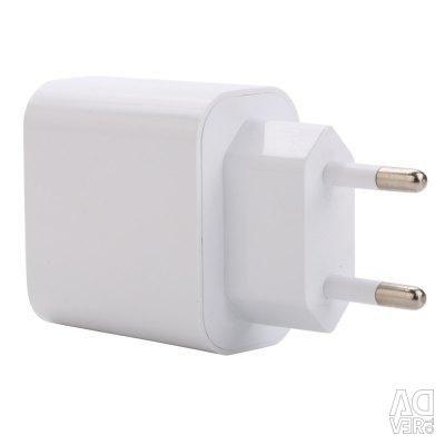 3 USB bağlantı noktasını şarj etme 3.1A beyaz (yeni)