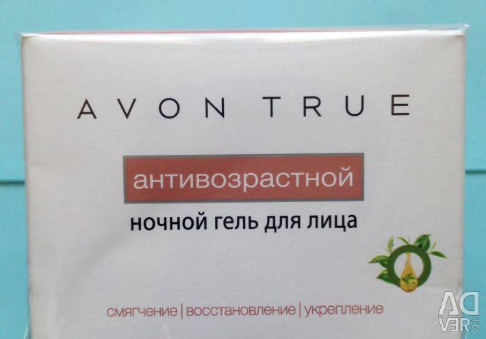 Avon True Anti-Aging Night Gel 50ml