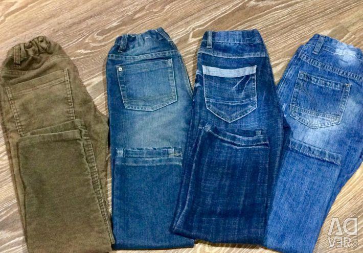 Детские джинсы фирменные