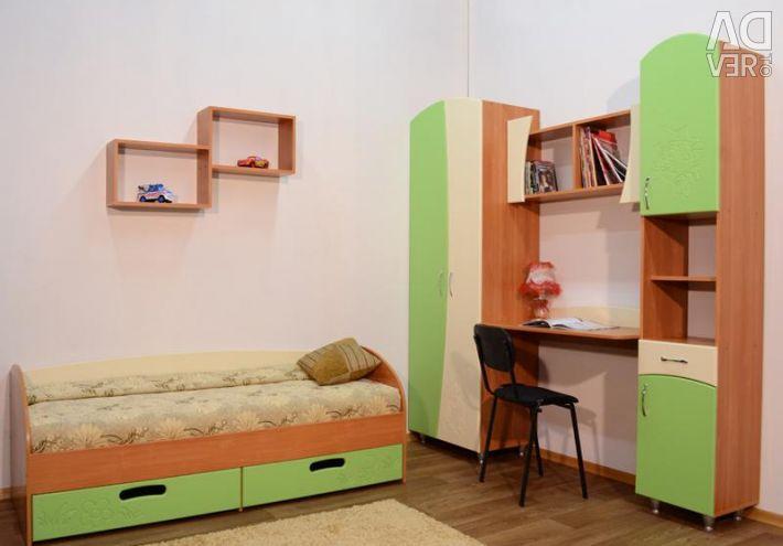 Çocuk odası duvarına