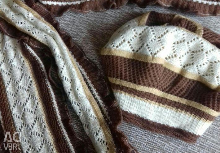 Бере з шарфом набір