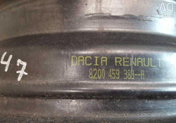 Диски R14 Renault Logan 1
