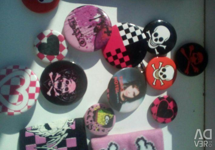 Badges, wristbands
