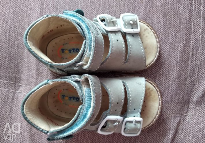 Sandals for the first steps
