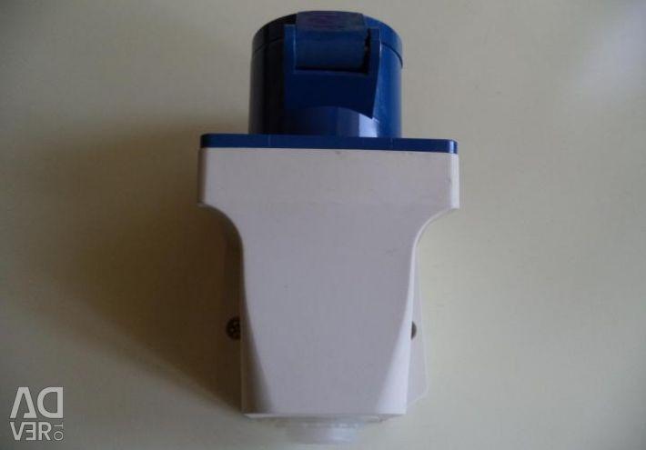 Stationary socket FID-113 16A