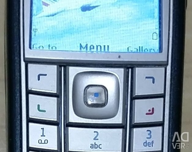 Cell phone NOKIA 6230i not Russified video