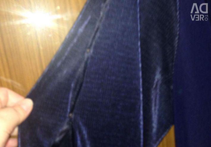 Платье р.56-58 красивое,нарядное,темн-синее