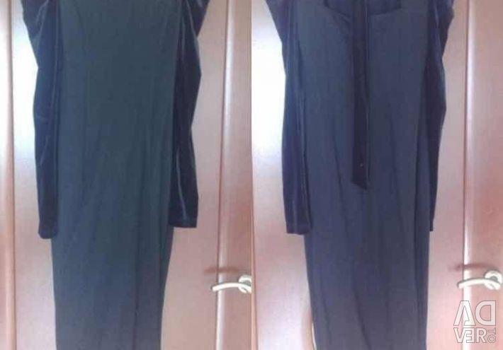 Φόρεμα θήκη νέο μαύρο κλασικό μέγεθος