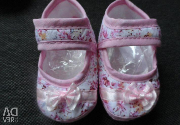 Pantofi de bumbac