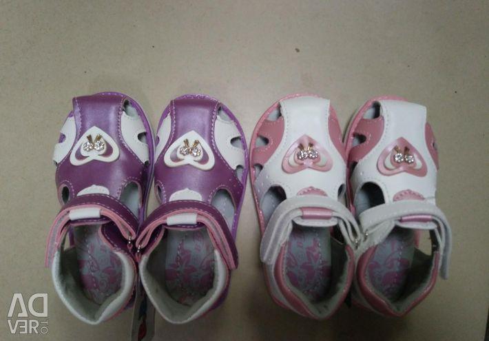 New sandals p 22