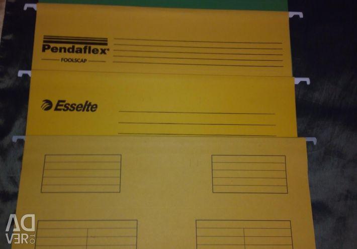 Новые папки Esselte Pendaflex Plus Foolscap