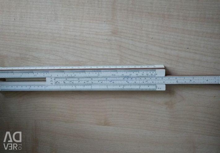The mathematical ruler
