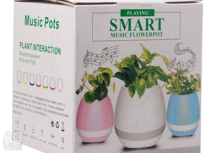 🔥 Bt Column Pot Planter Sensor Disco-LED