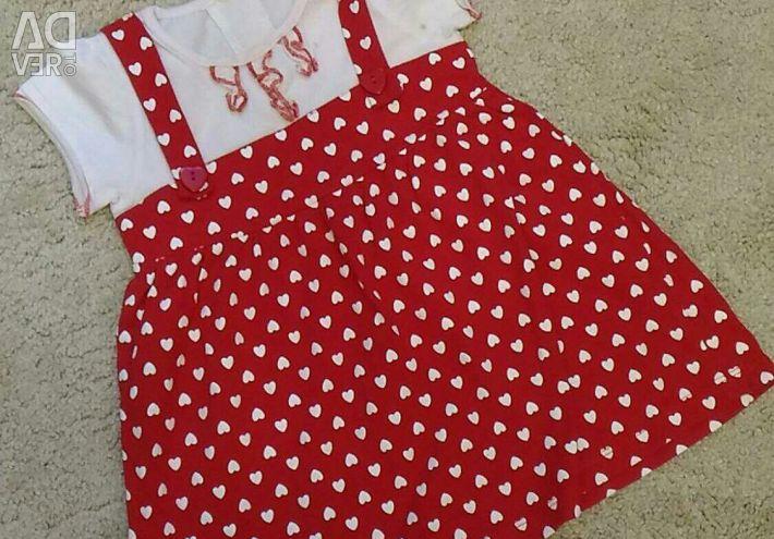 Παιδικό φόρεμα 86-92 μεγέθη