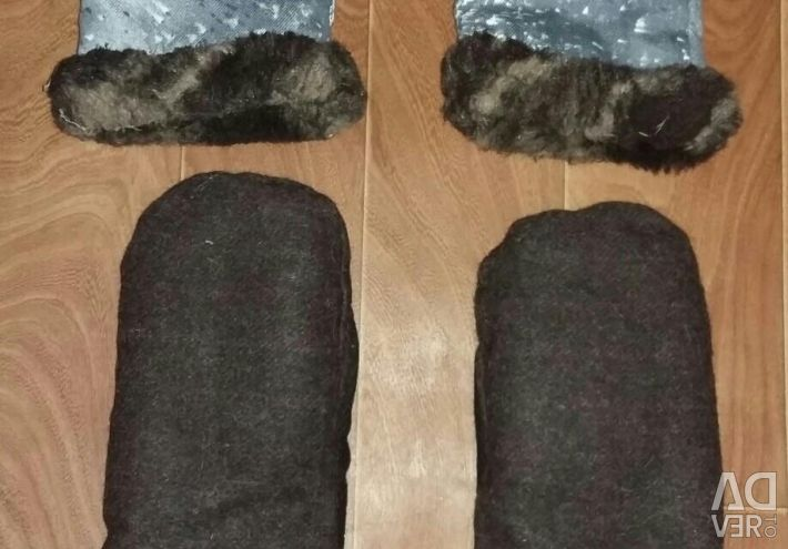 Brand new mittens