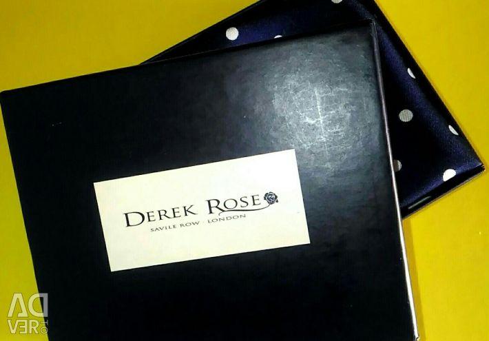 Eșarfă de mătase Derek Rose
