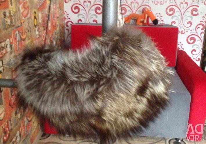 A clutch made of fox