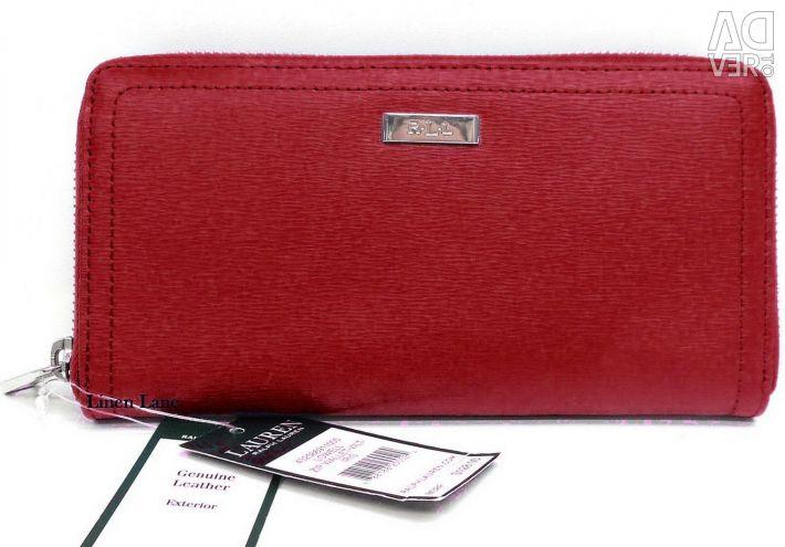 Women's wallet LAUREN by Ralph Lauren original