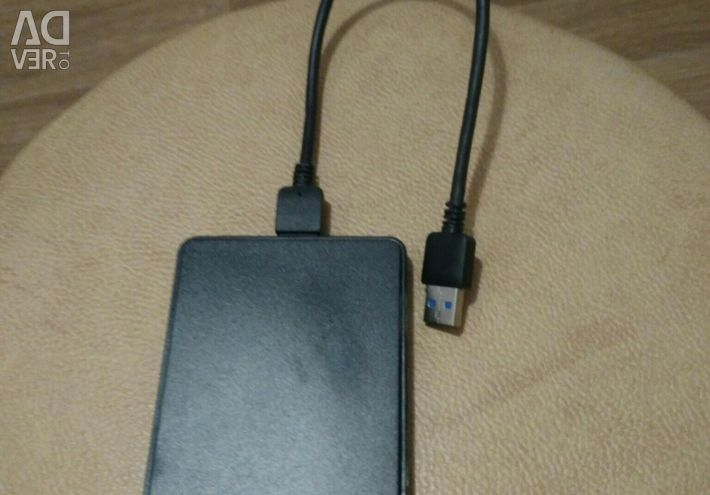 Box 2.5 SATA adapter in usb 3.0 new