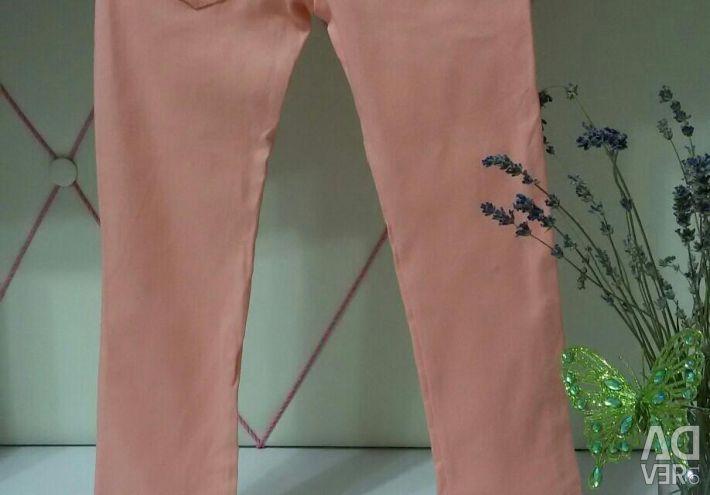 Детские джинсы стрейч (новые)