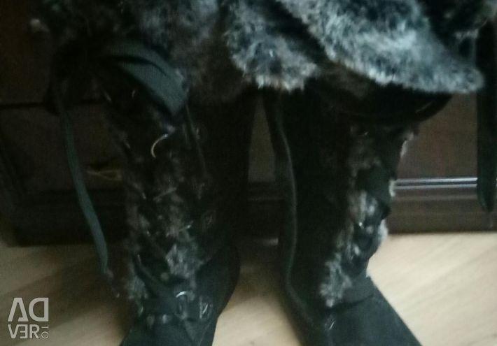Goretex kışlık botlar yeni durumda