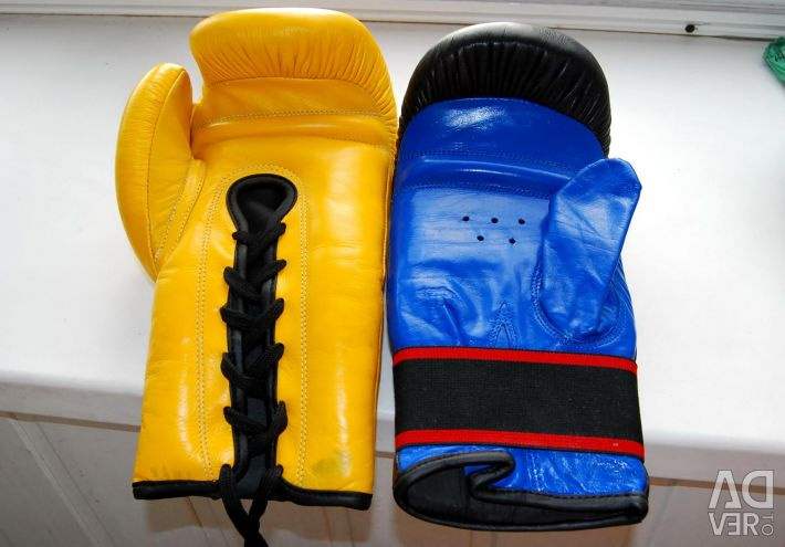 Thai Boxing Gloves with Lacing