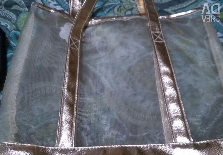 Geantă transparentă elegantă