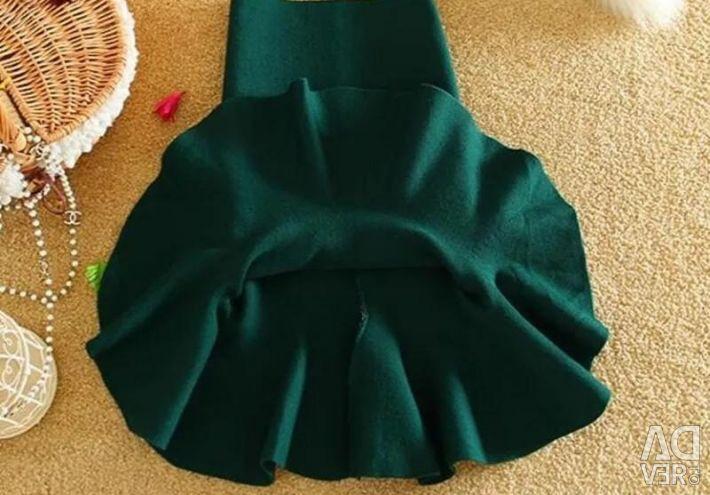 Skirt with flounce40 / 42/44 /