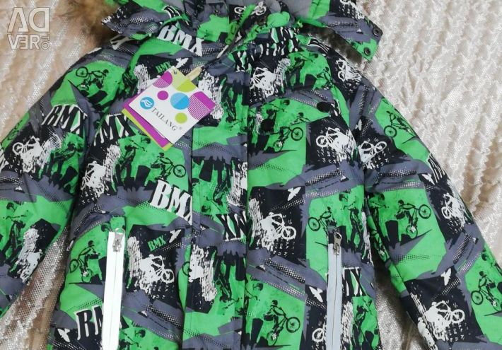Winter jacket for a boy for 3-4 years