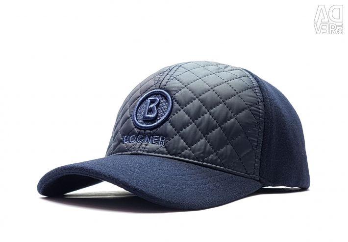 Șapcă de baseball pentru iarnă Bogner (albastru t)