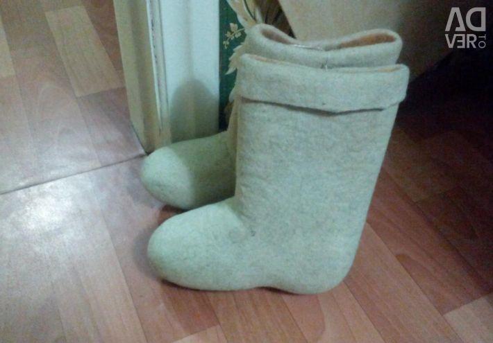 New boots handmade