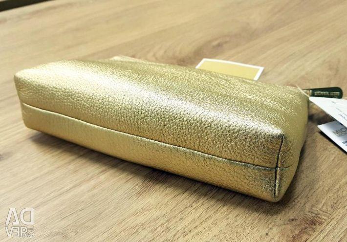 Geantă cosmetică / ambreiaj de la MICHAEL KORS, aur